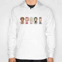 spice Hoodies featuring Spice Girls by Big Purple Glasses