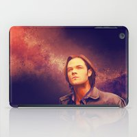 sam winchester iPad Cases featuring Sam Winchester - Supernatural by KanaHyde