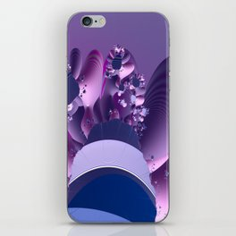 Abstract cactus blooming iPhone Skin