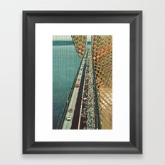 the tipping point Framed Art Print