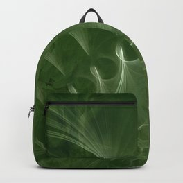 Abstract Green Marble Backpack