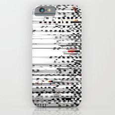 Black and White Noise Slim Case iPhone 6s