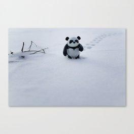 Zeke the Zen Panda Canvas Print