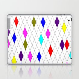 A Harlequin Design Like Stained Glass Laptop & iPad Skin