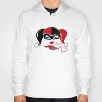 harley Hoodies featuring Harley Kiss by fabvalle