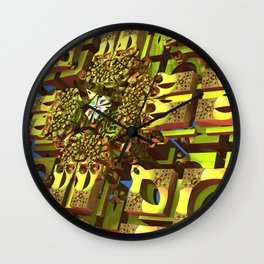 Cool fantasy architecture Wall Clock