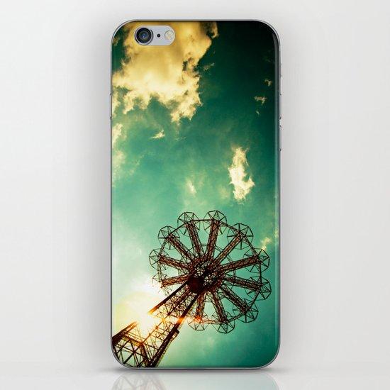 Catch The Wind iPhone Skin