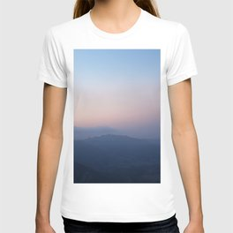 Blue Hills at Sunset T-shirt