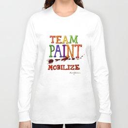 TEAM PAINT MOBILIZE Long Sleeve T-shirt