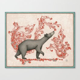 Spirit Bear Canvas Print
