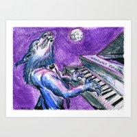 Werewolf Garner Art Print