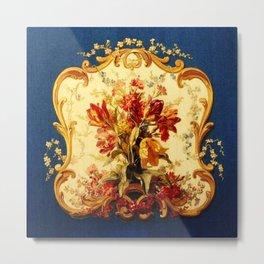 Baroque Panel Metal Print