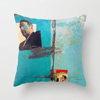 greek Throw Pillows featuring Greek by Alec Goss