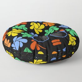 Afro Diva : Colorful Floor Pillow