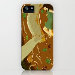 Hot and Sour Soup iPhone Case