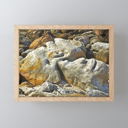 Rocksy Framed Mini Art Print