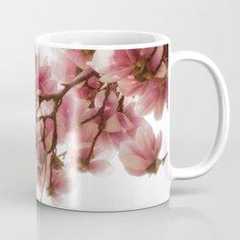 Magnolia tree, pretty pink blooms Coffee Mug