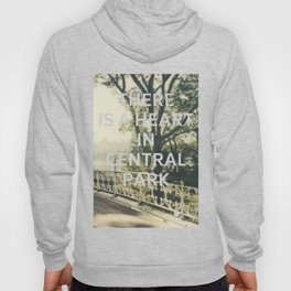 New York (There is a Heart in Central Park) Hoody
