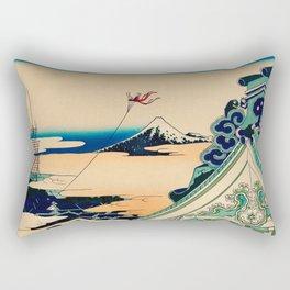 Katsushika Hokusai - Toto Asakusa Honganji Rectangular Pillow