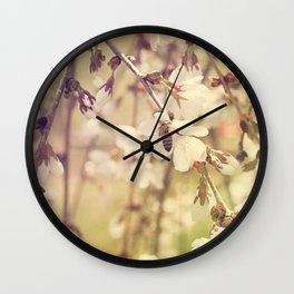 Rainbow Honeybee Wall Clock