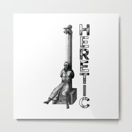Heretic - Water Torture Metal Print