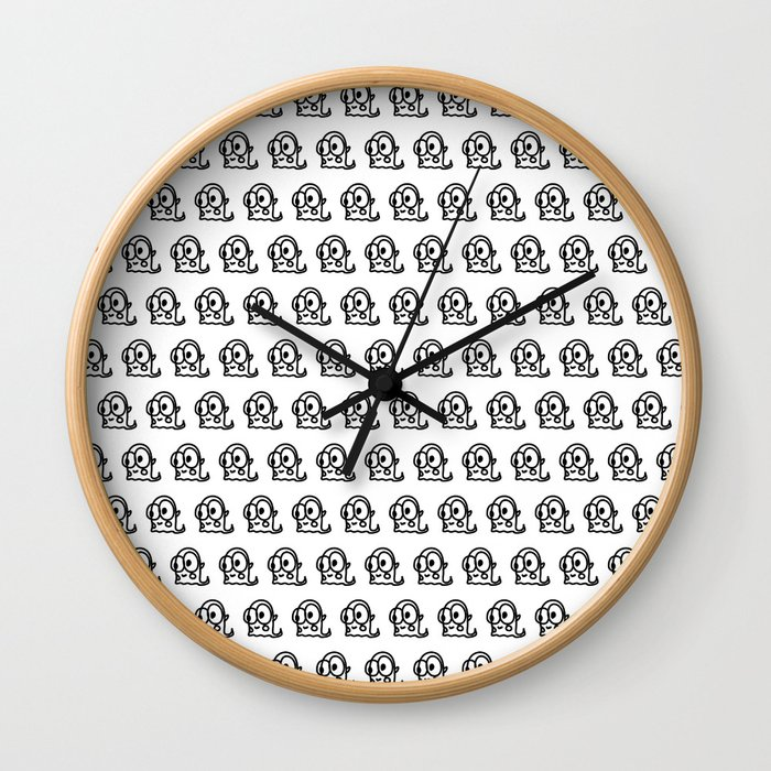 CREATURES FROM OUTER SPACE Wall Clock