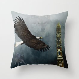 Sacred Places Throw Pillow