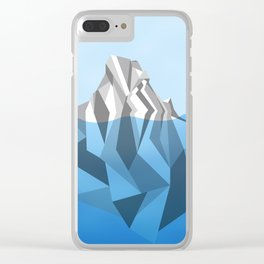 ANTARCTIC ICEBERG Clear iPhone Case