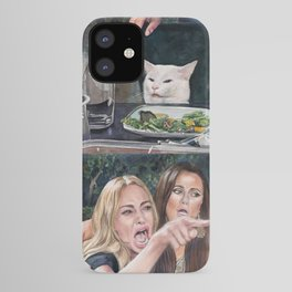 Woman Yelling at Cat Meme-3 iPhone Case