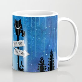 Any Road Will Get You There - Alice In Wonderland Coffee Mug