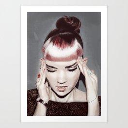 Grimes - Claire Boucher Art Print