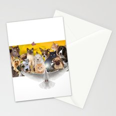 Coexisting Stationery Cards