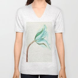 Blue tulip Unisex V-Neck