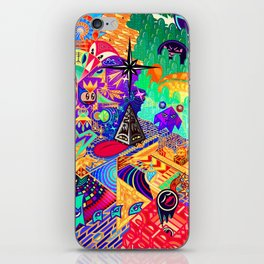 4th and a Half Dimension iPhone Skin