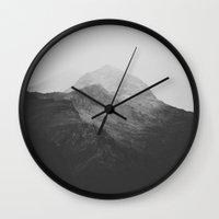switzerland Wall Clocks featuring Switzerland VII by Luke Gram