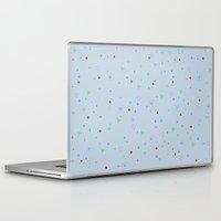 confetti Laptop & iPad Skins featuring CONFETTI by Megan Watt