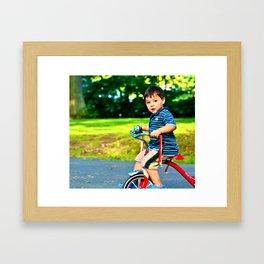 Classic bike  Framed Art Print
