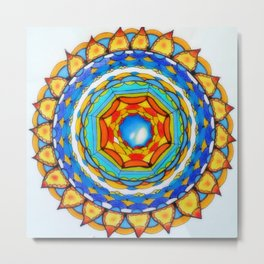 Mandala Magic Metal Print