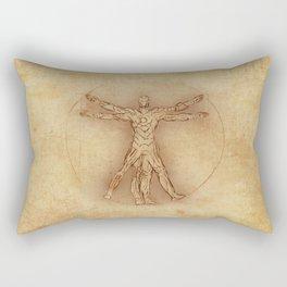 Iruvian Man Rectangular Pillow