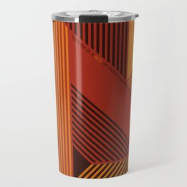 Design is a Mix Travel Mug