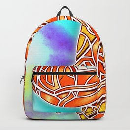 Red Flame Char Backpack