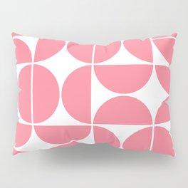 Mid Century Modern Geometric 04 Pink Pillow Sham