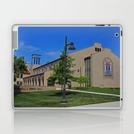 Lourdes University-  Russel J Ebeid Hall with the Peace Prayer Attributed to St Francis Laptop & iPad Skin