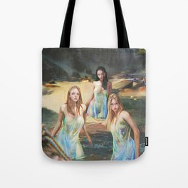 """Sirens (""""Charm of of the Ancient Enchantress"""" Series) Tote Bag"""