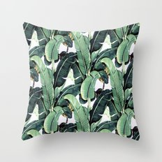 Leaf pattern Throw Pillow