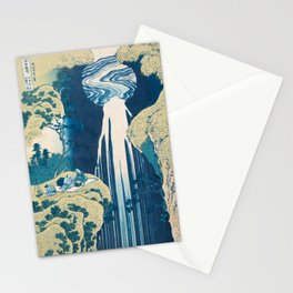 Katsushika Hokusai Waterfall Stationery Cards