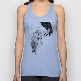 Falling dragon Unisex Tank Top