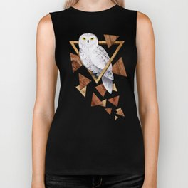 Owl in the Woods Biker Tank