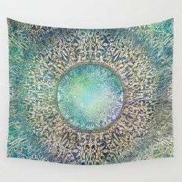 Moon Mandala Wall Tapestry
