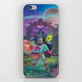 Enter The Dream Sequence - The Lone Gate iPhone Skin